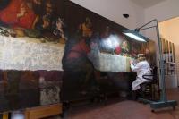 crowdfunding; restoration; Lastsupper; TheFirstLast; painting; rewards; local business; the florentine; Aquaflor; Invisible; hotel savoy; rocco forte; nerdi orafo firenze; firenze; italy; palazzo Spinelli; Palmerino